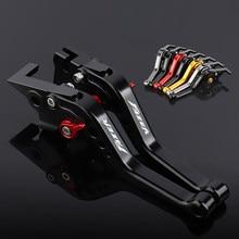 Novo curto motocicleta alavancas de freio embreagem para yamaha fz1 fazer/gt fz6 fazer/s2 fz6r fz8 xj6 desvio abs FZ6-Fazer/s2