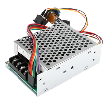Motor Speed Controller DC 10V-55V CW CCW Reversible Switches with Digit Display Pinpoint Regulator WWO66 стоимость