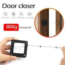 Punch-livre automático sensor de porta mais perto fechar automaticamente para todas as portas gavetas rawstring porta suporte automático mais perto