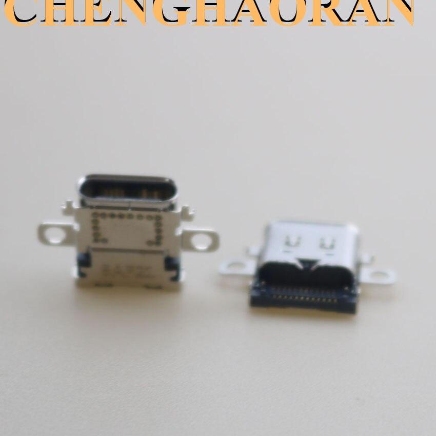Image 3 - ChengHaoRan 2pcs 5pcs 10pcs Original New USB Type C Charging Socket Port Power Connector for Nintend NS Switch ConsoleReplacement Parts & Accessories   -