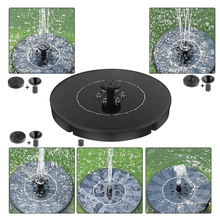 9V Solar Fountain Watering Kit Power Solar Pump Pool Pond Submersible Waterfall Floating Solar Panel Water Fountain For Garden solar water fountain panel power water fountain pump floating fish tank pond pool watering pump garden irrigation submersible