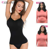 Frauen Camisoles Taille Trainer Kompression Shirt Abnehmen Body Shaper Bauch Control Tank Tops Shapewear Sommer Crop Top Mujer