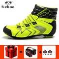 Tiebao estrada inverno ciclismo sapatos de ciclismo bicicleta calçado atlético zapatillas deportivas mujer esportes das sapatilhas dos homens das mulheres