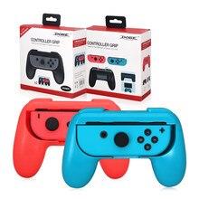 2 uds juego Joy-con mango de soporte de la consola cómodo porta controlador para Nintendo interruptor Dual doble jugadores juego