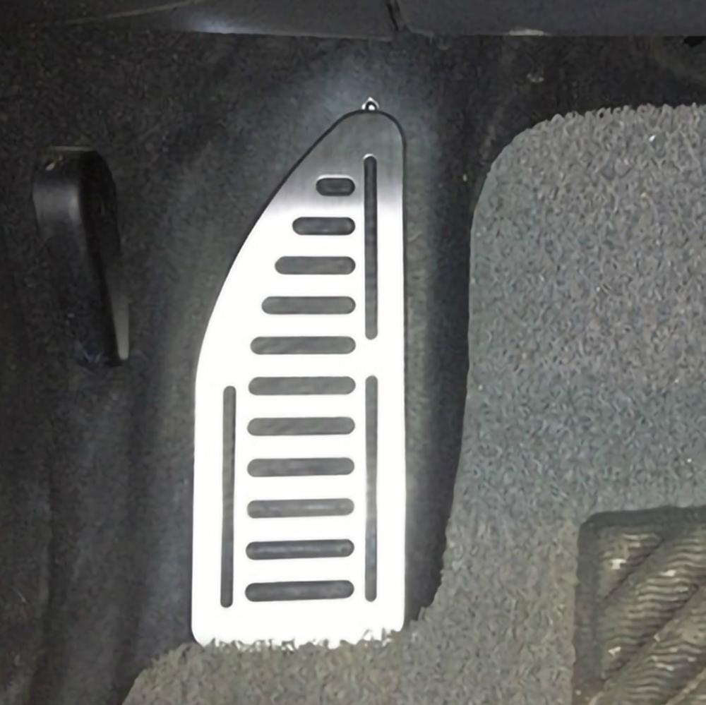 Pédale de voiture en acier inoxydable, couvre-pied, pour Ford Focus 2 MK2 Kuga Escape 2