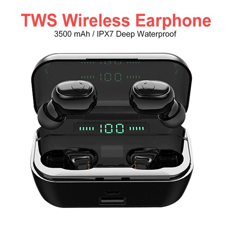 High Quality Bluetooth Headset Mini TWS Wireless Earbuds HD Stereo Headset 5.0 Bluetooth Headset