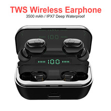 High Quality Bluetooth Headset Mini TWS Wireless Earbuds HD Stereo Headset 5.0 B