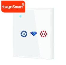 Smart EU UNS WiFi Vorhang Schalter, 10A Wireless Controller Rollladen Schalter opener Kompatibel mit Alexa Echo, google Hause