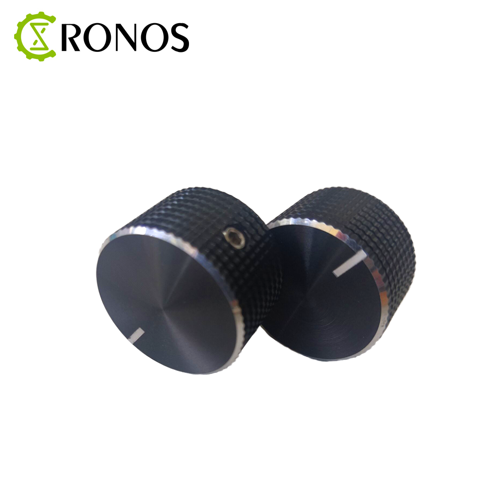 1PCS/5PCS/10PCS 25x15.5x8mm Aluminum Alloy Potentiometer Knob Rotation Switch Volume Control Knob Black In Stock