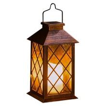 Candle-Lantern Flickering Electronic Light-Garden LED Waterproof Flameless Solar-Powered
