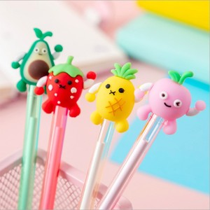 40pcs/lot Cartoon Fruit Black