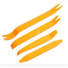 4pcs Auto Fastener Chip Repair Tool Kits Hard Plastic DIY Car Radio Panel Hand-held Disassembly Dashboard Removal Opening