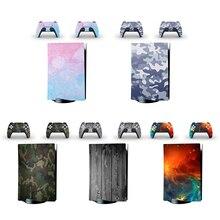الذاتي لاصق لعبة ملصقات حدة غطاء المراقب مائي لسوني بلاي ستيشن 5 PS5 تحكم للإزالة واقية الجلد لصائق