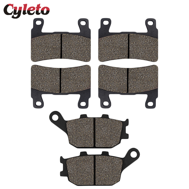 Motorcycle Front Rear Brake Pads for HONDA CBR600 f4 CBR 600 929 954 RR Fireblade CBR900RR VTR1000 RVT1000R CB 1300 Super Four