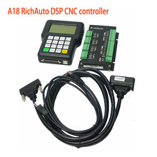 DIY 4 osi RichAuto DSP A18 4-osiowy sterownik CNC A18s A18e USB System sterowania ruchem instrukcja dla CNC ploter