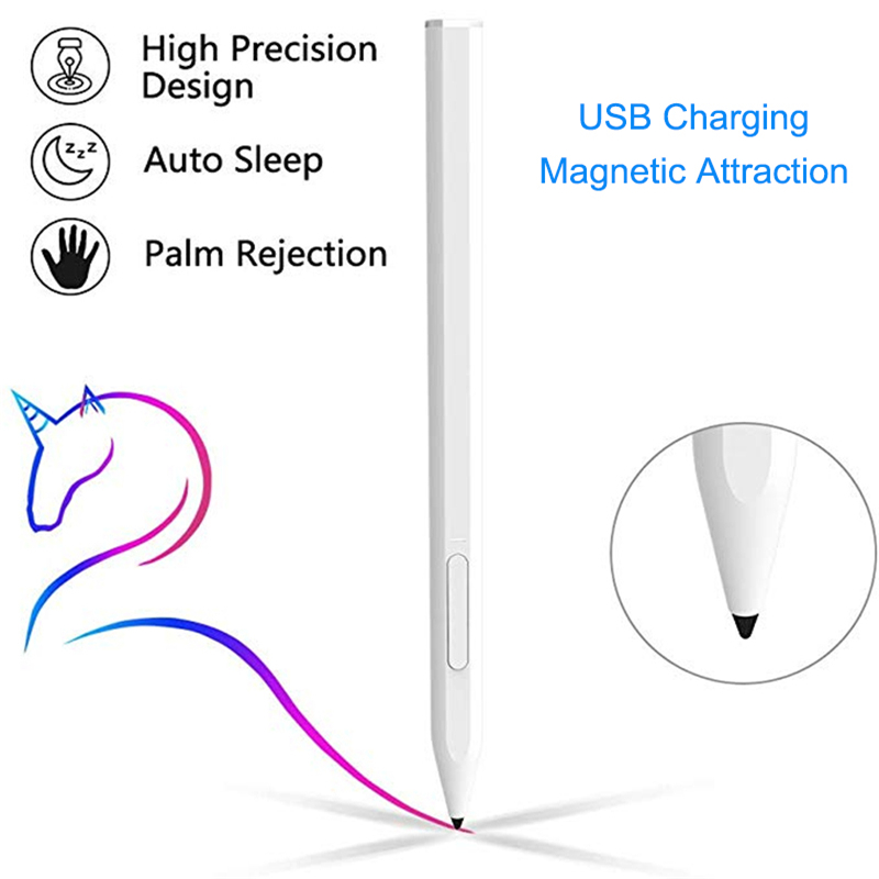 Uogic Dedicated Stylus Pen For Apple IPad With Palm Rejection Rechargeable Magnetic Attraction Tablet Smart Touch Pencil