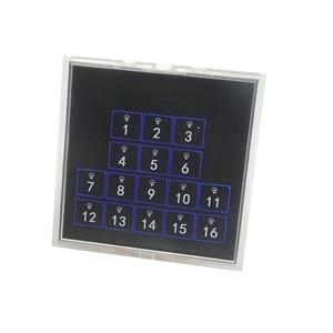 Image 1 - Kincony 16ボタン自己リセットスイッチ、トグルスイッチ壁パネル86*86モジュールためKC868スマートホームオートメーションコントローラマニュアル制御12v