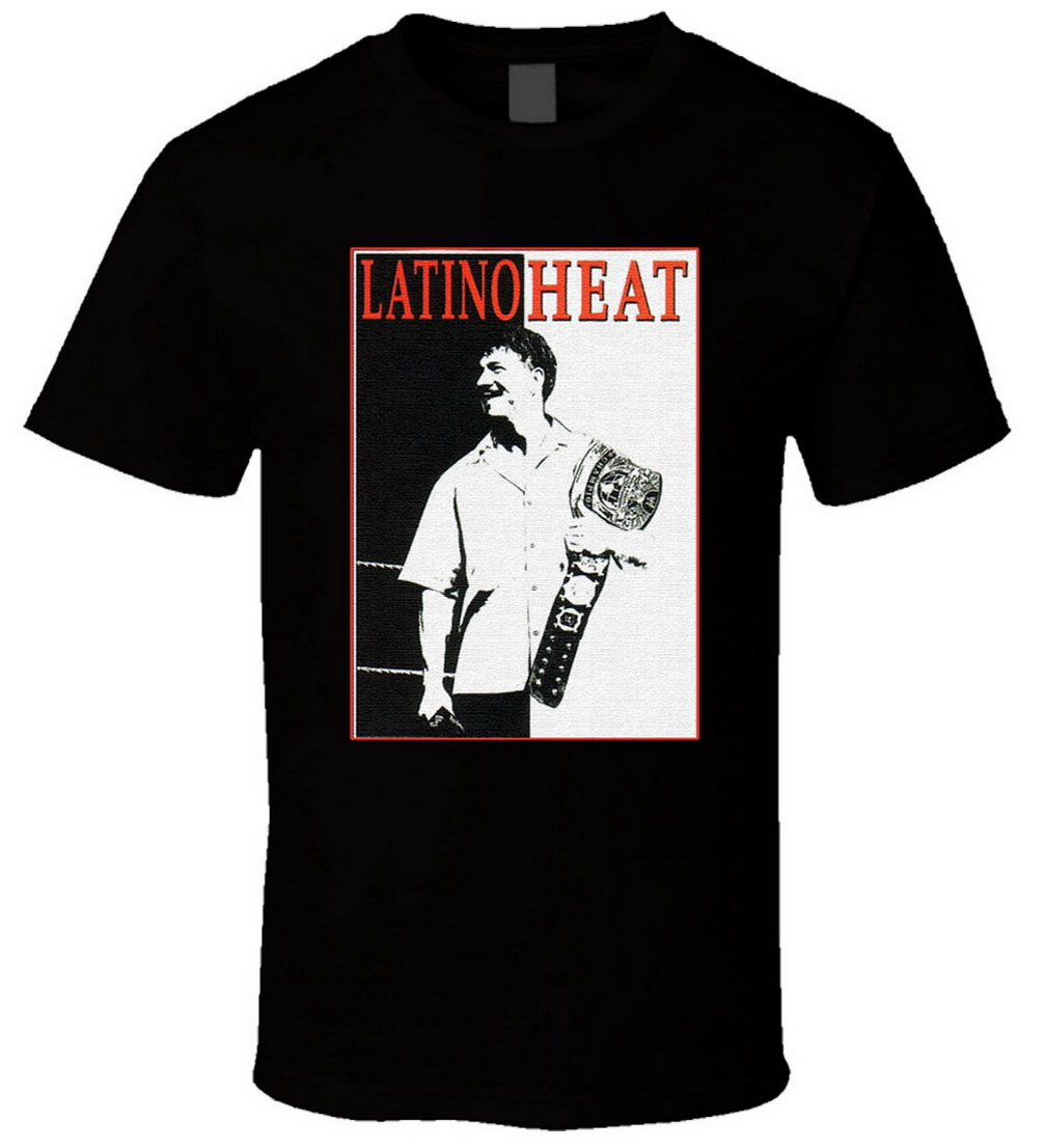 Eddi Guerrero Latino Heat Tops Tee T Shirt T-Shirt Newest Fashion For Men Women Tshirt S-5XL Size 11 Colors