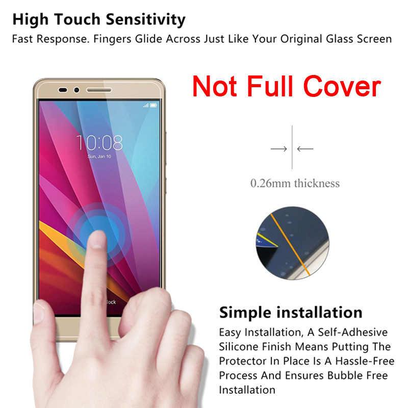 Vidrio templado para teléfono móvil Honor 8X 7X 6X 5X 4X 3X Max película protectora de pantalla para Huawei Honor 6C Pro 4C 5C vidrio