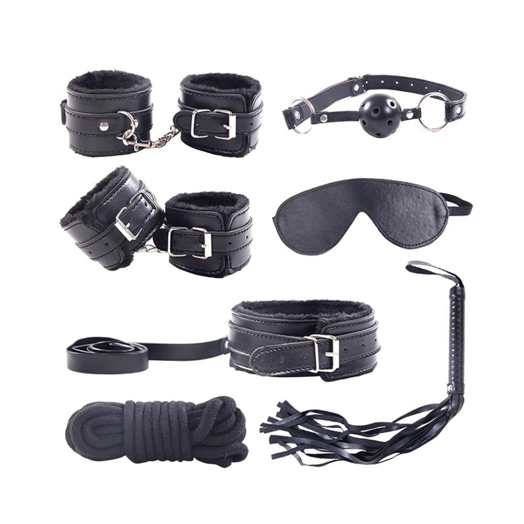 7 Pieces Bondage Kit