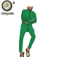 Одежда в африканском стиле мужская одежда с принтом 100% хлопок