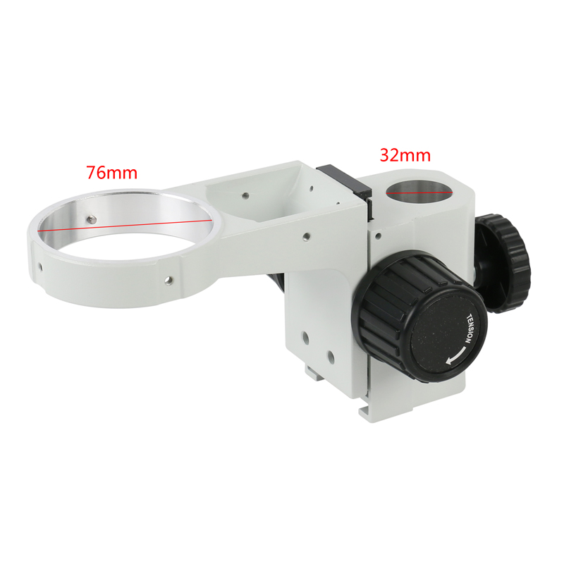 76mm Diameter Adjustable Zoom Stere Microscopes Focusing Holder Focusing Bracket For Tinocular Microscope Binocular Microscope
