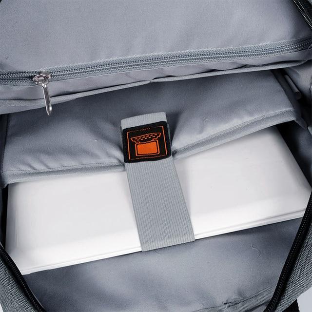 THIKIN Unisex Laptop Backpack 15 Inch Rucksack SchooL Bag Travel Waterproof Backpack Men Notebook Computer Bag Business 4