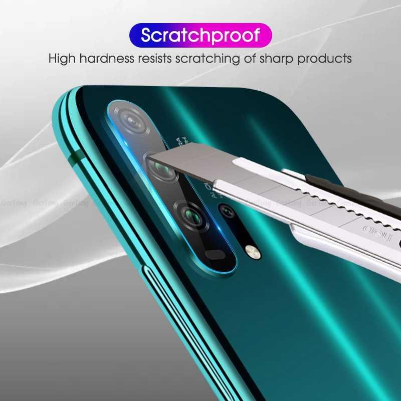 Lưng Ống Kính Máy Ảnh Cho Huawei Honor 20 Pro V20 10 8X 7C 7A Kính Nova 5 tôi Y6 Y7 y9 2019 Giao Phối 20 P30 P20Lite Tấm Bảo Vệ Màn Hình
