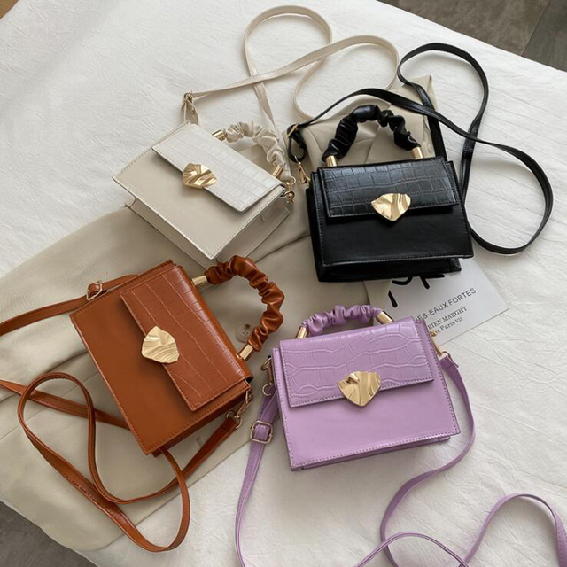 Designer PU Leather Small Crossbody Bag Can Be Used As A  Shoulder Bag And A Hand Bag for Women