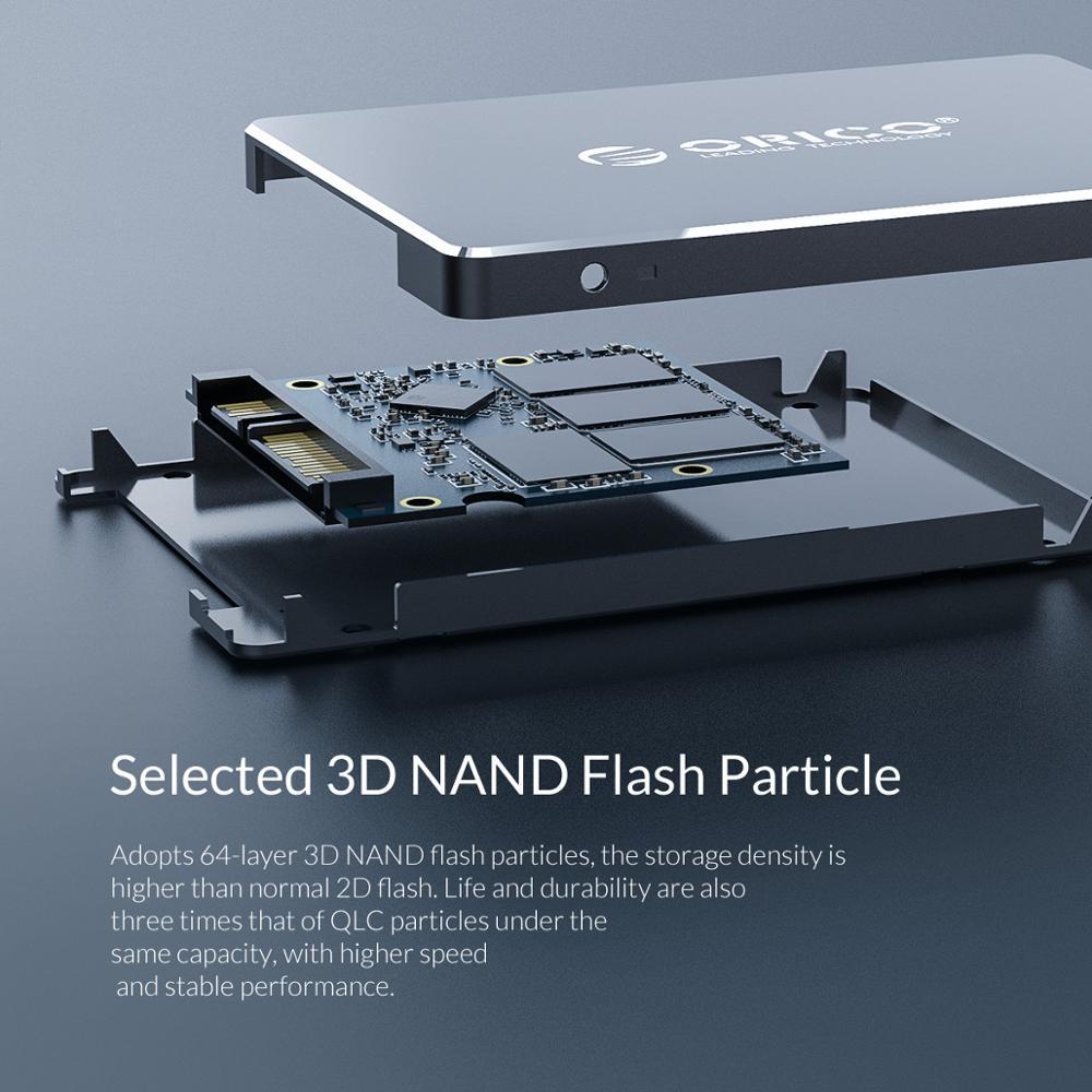 ORICO SSD Festplatte 128GB 256GB 512GB 1TB SSD 2,5 Zoll SATA SSD 1TB Interne solid State Disk Für Desktop Laptop