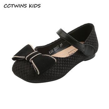 kids shoes 2020 new spring girls fashion genuine leather shoes princess party flats children black mary jane footwear flower CCTWINS Kids Shoes 2021 Spring Fashion Butterfly Shoes Baby Flats Girls Brand Mary Jane Rhinestone Black Flats Toddlers GM2745