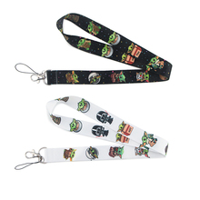 SP009 Yoda Baby Lanyard Keychain Lanyards for Keys Badge ID Mobile Phone Rope Neck Straps Accessories Gifts dmlsky kiki s delivery service lanyard keychain anime lanyards for keys badge id mobile phone rope neck straps gifts m3865