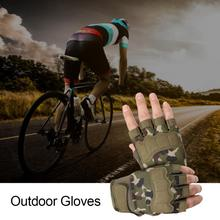 1Pair Fitness Gloves Cycling Gloves Military Tactics Half Finger Gloves Special Forces Combat Sports Gloves Bicycle Gloves TXTB1 cheap CN(Origin) nylon fiber EVA knitted fabric Outdoor Gloves Tactical Gloves black army green sand desert camouflage jungle camouflage