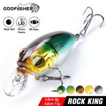 Crankbait Jerkbait Swim Fest Angeln Lockt Wobbler Köder Bass Mini Minnow Crank Swimbait Für Barsch Hecht Meer Powerbait Isca 8g 11g(China)
