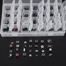 1 коробка 28 Тип тактильная нажимная кнопочный сенсорный переключатель дистанционного ключа поверхностного монтажа комплект сенсорного переключателя