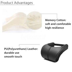 Подголовник для автомобильного сиденья, подушка для отдыха для путешествий, подушка для шеи из искусственной кожи, Автомобильная подушка для шеи, подушка для отдыха на шее, подголовник|Подушка под шею|   | АлиЭкспресс