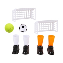 Game-Sets Soccer Cricket Football Outdoor Match Finger-Toy Dog-Toy-Game Bounce Funny