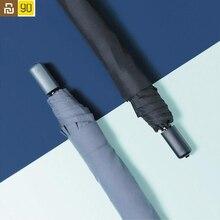 Youpin 90Fun Portable parapluie coupe vent imperméable Anti UV UPF40 + surdimensionné renforcé parapluie ensoleillé pluvieux hommes femmes 309g