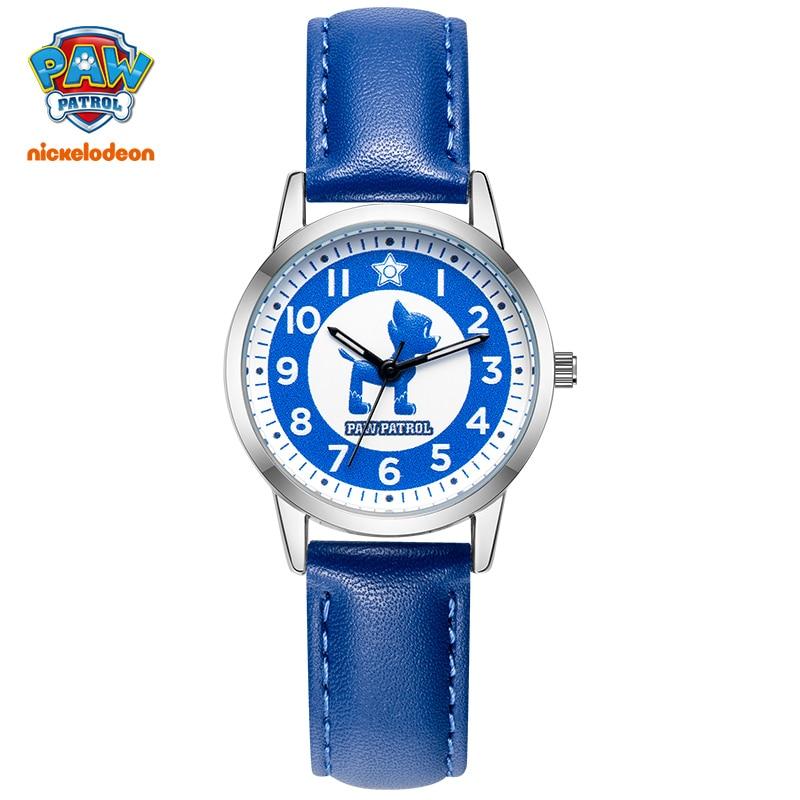 New Paw Patrol Original Cartoon Cute Dogs Chase Sky Marshall Children Kids Girls Boys Quartz Wrist Watch Luminous Clock Relogio