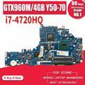 LA-B111P Laptop Motherboard Für Lenovo Y50-70 Original Mainboard I7-4720HQ/4710HQ GTX960M-4G