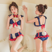 Hot Maid Costumes Role Play Women Sexy Lingerie Hot Erotic Underwear Lace Sexy Costume Lovely Sexy Uniform Porno Lenceria Sets