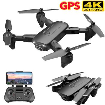 F6 GPS Drone 4K kamera HD FPV drony z Follow Me 5G WiFi przepływ optyczny składany zdalnie sterowany Quadcopter profesjonalny Dron tanie i dobre opinie XINGYUCHUANQI CN (pochodzenie) Z tworzywa sztucznego 500M 31 x 31 x 6cm as show Mode2 15 day silnik szczotkowy 7 4V 4D-F6