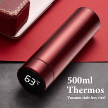 Water-Bottle Coffee-Milk-Cup Thermos Intelligent Temperature-Display Stainless-Steel