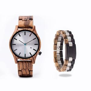 Image 1 - DODO DEER Watch uomo giappone quarzo Zebra orologi in legno maschio semplice reloj hombre calendario data Display Dropshipping OEM B09