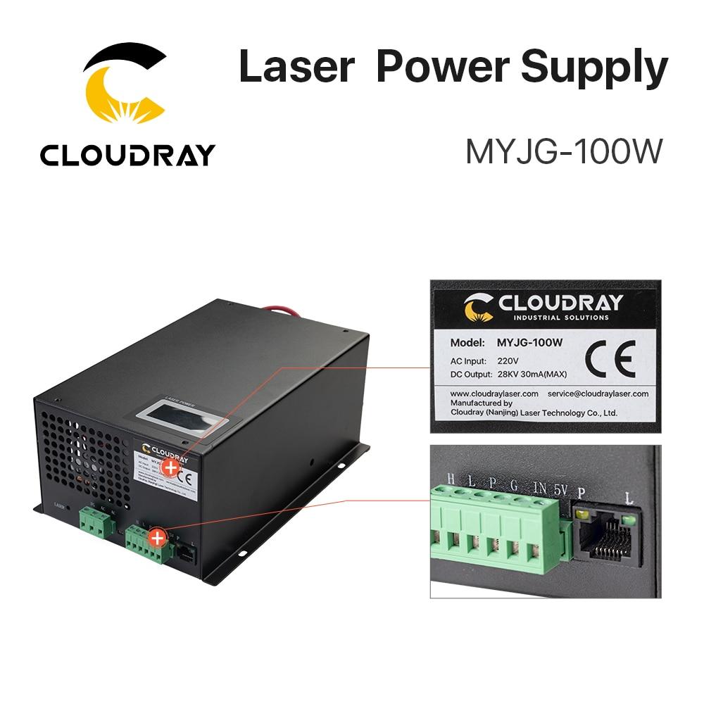 """""""Cloudray"""" 80–100 W CO2 lazerio maitinimo šaltinis, skirtas - Medienos apdirbimo mašinų dalys - Nuotrauka 6"""