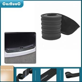 90 cm For Volvo XC90 S60 CX60 S80 V40 S40 XC70 V60 XC40 V90 Car Trunk Rear Bumper Trim Guard Plate Protector Rubber Sticker