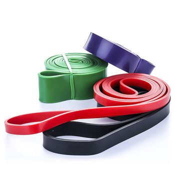 Unisex Fitness 208cm Rubber Resistance Bands Yoga Band Pilates Elastic Loop Crossfit Expander Strength gym Exercise Equipment 4