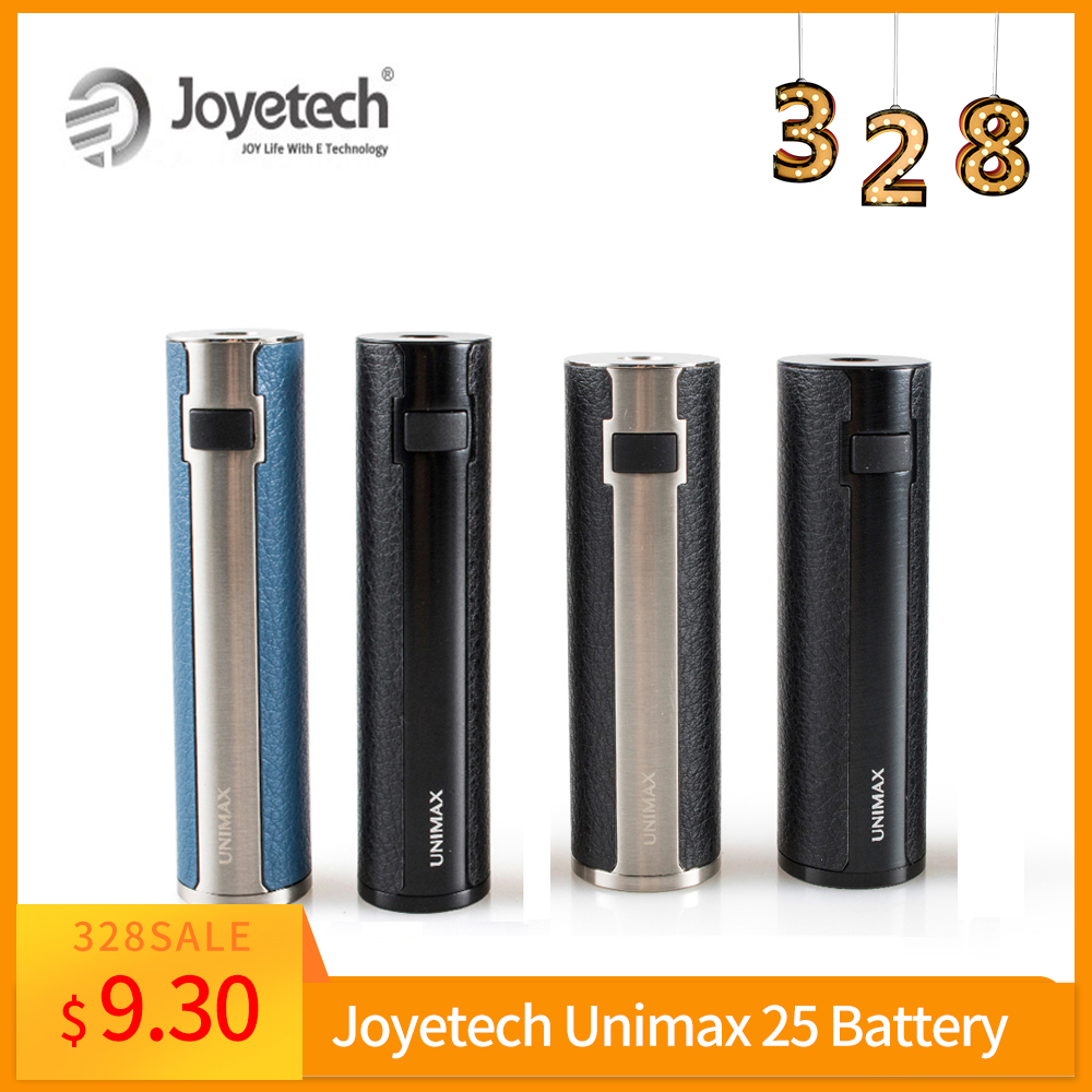 25mm Diameter Original Joyetech Unimax 25 Battery Built In 3000mAh Battery Box Mod Electronic Cigarette