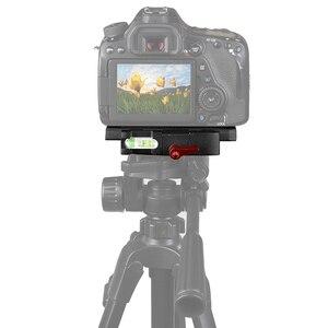 Image 5 - Fotoğraf aksesuarları 1/4 vida P200 hızlı bırakma plaka Arca Swiss CanonNikonSony Z6 A6400 Fujifilm XT3 3/8 vida plakası