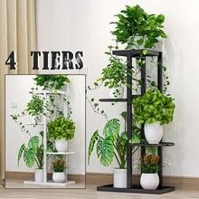 Multi-Layer-Plant-Stand Shelf Fence-Rack Flower-Pot Wrought-Iron-Craft Balcony Indoor Garden